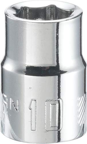 CRAFTSMAN Shallow Socket, Metric, 3/8-Inch Drive, 10mm, 6-Point (CMMT43542)