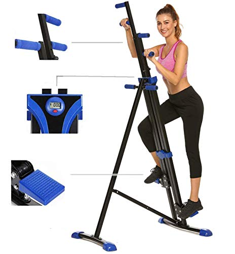 Hurbo Vertical Climber Home Gym Exercise Folding Climbing Machine Exercise