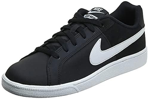 Nike Women's Court Royale AC Sneaker, Black/White, 5.5 Regular US