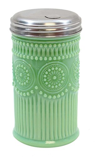Tablecraft Sugar Shaker with Stainless Steel Top, 3.0625