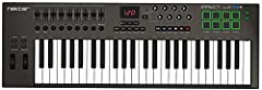 49 note (61 on LX61+) velocity-sensitive synth-action keyboard 8 hyper-sensitive backlit pads Mac, PC and iOS Compatible Software instruments automatically Mapped to controls Includes Bitwig 8-track DAW