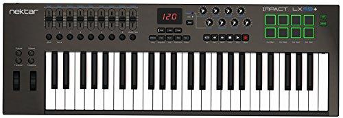 Nektar Impact lx49 + USB MIDI controller keyboard met DAW-integratie