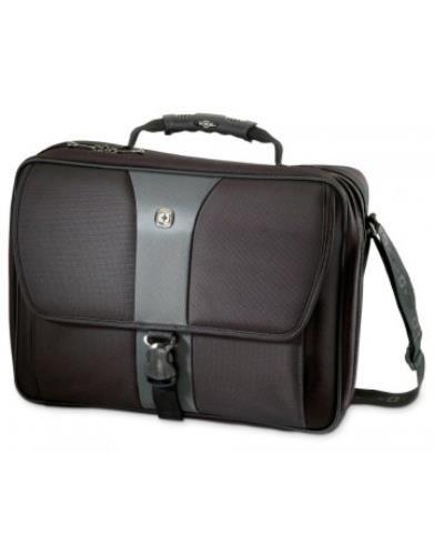 'Wenger/SwissGear Legacy 17Bag Black Bags 43.2cm/17inch Laptop Sleeve Case–Black, Nylon, Polyester, Monoton–470mm)