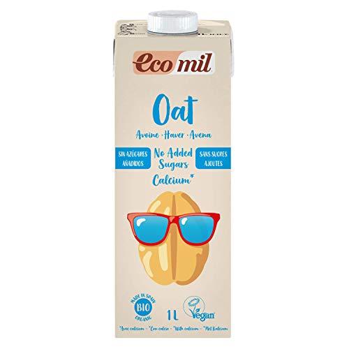 NUTRIOPS ECOMIL Oat No Added Sugars Calcium Bio, 1 l, Standard, Einzigartig