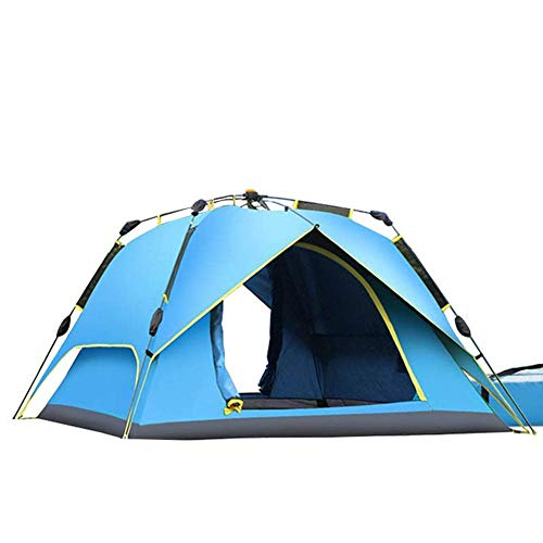 COOLLL Utility Tent, Up Camping Tents, 2-3 Person 4-Season Large Family Waterproof Lightweight Backpacking Tent for Camping Hiking Travel Climbing - Easy Set Up,Blue