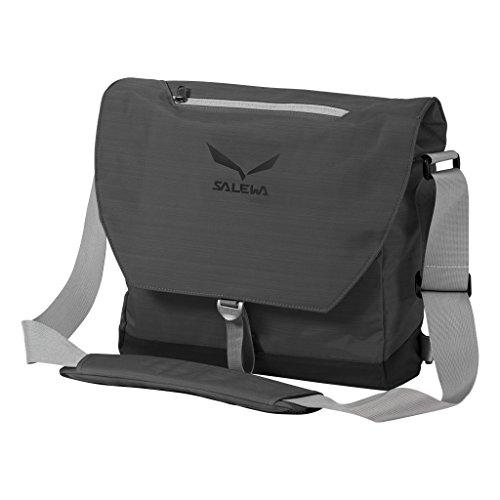 SALEWA Erwachsene Messenger und Laptop Tasche M 15 zoll, Grey, 43 x 38.5 x 11 cm, 18 Liter, 00-0000002873