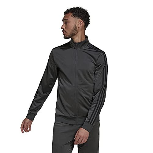 adidas Men's Essentials Warm-up 3-Stripes Track Top