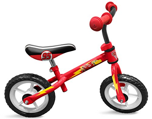 STAMP Boys Running Bike/LAUFRAD-Cars, Rot, One Size