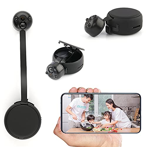 CHENPENG Cámara espía de separación escalable, cámara Oculta 1080P, Mini cámara espía Nocturna WiFi, detección de Movimiento, para Oficina en casa, Interior y Exterior