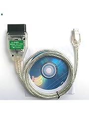 OTKEFDI KDCAN OBD2, K+Dcan OBDII Ediabas NCS Expert Rheingold Kenmerkende Scanner