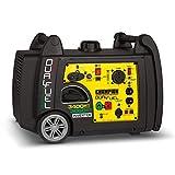 Champion 3400-Watt Dual Fuel RV Ready Portable Inverter Generator with Electric Start (Renewed)