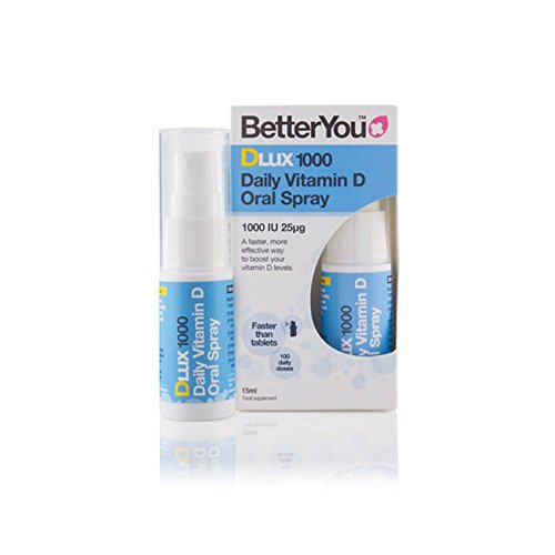 2 x Better You Dlux 1000 Vitamin D Spray 15ml