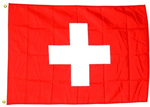 Fahne Flagge Schweiz 30 x 45 cm [Spielzeug]