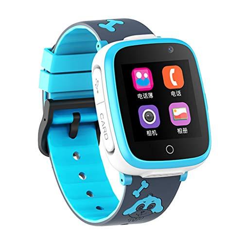 Relojes de pulsera Reloj Inteligente, Reloj de Cámara Digital con Reproductor de Música de Juegos de Llamadas Telefónicas, Alarma con IP53 TFT Táctil de 1.54 Pulgadas para Niños Niñas Regalo Electróni