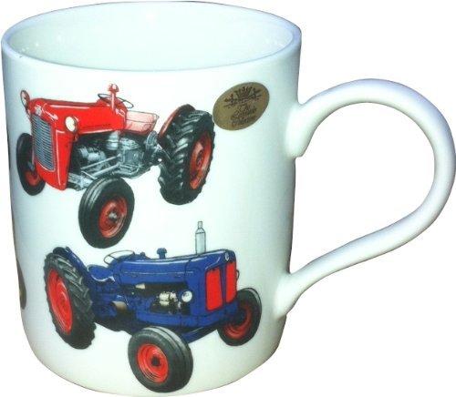 Lesser & Pavey Klassische Traktor China Becher, Mehrfarbig