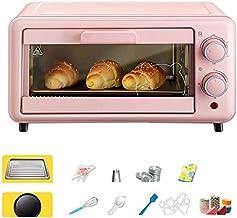 Mini parrilla para horno de 11 L y múltiples accesorios horno eléctrico con bandeja de desechos desmontable, tostadora para uso doméstico con función de descongelación y función de parrilla