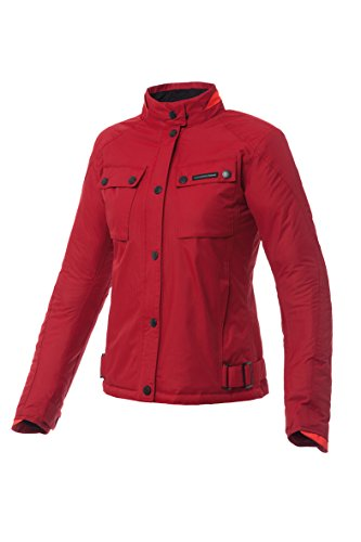 Tucano Urbano 8944wf039rs2Biella–resistente agli weisend trapuntato, antivento e traspirante giacca da donna, Rosso, Taglia XS