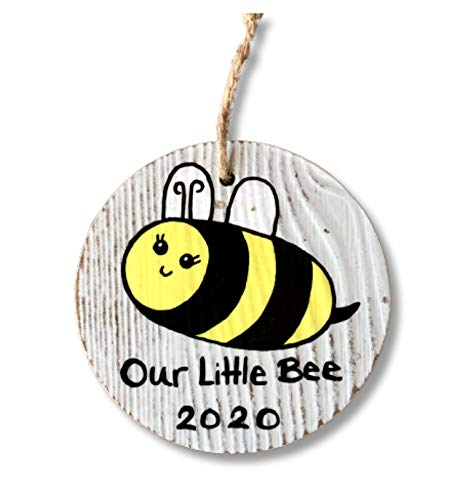 Bee Ornament for New Baby