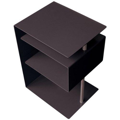 Radius - x-Centric - bijzettafel - salontafel - staal gepoedercoat - zwart - 50 x 30 x 37,5 cm