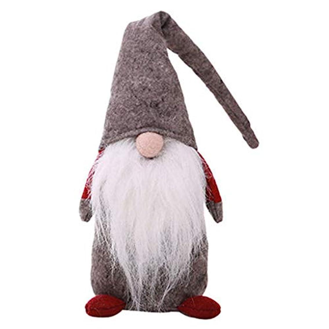 ウナギ武器延期するSix-Bullotime クリスマス ぬいぐるみ 北欧の妖精トムテ クリスマス サンタクロース ハンドメイド クリスマス飾り置物 クリスマスツリー ツリー 装飾 サンタクロースペンダント人形 室内 インテリア おもちゃ 飾り グレー