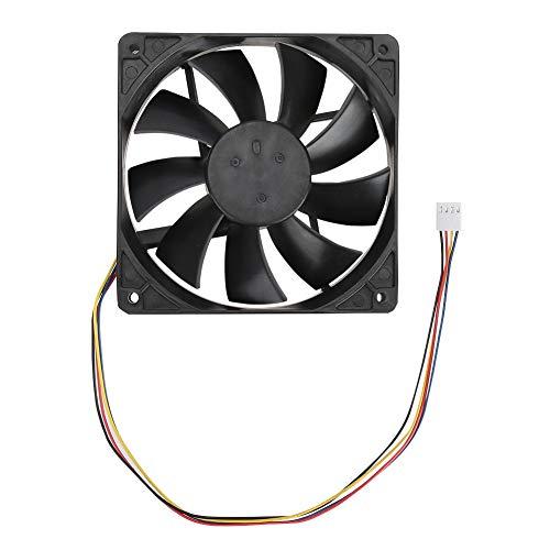 Eatbuy Enfriamiento por Ventilador - 12CM 12V 0.72A 4Pin PWM Control de tasa de Temperatura Ventilador de enfriamiento (SHLF1212MBE-38)