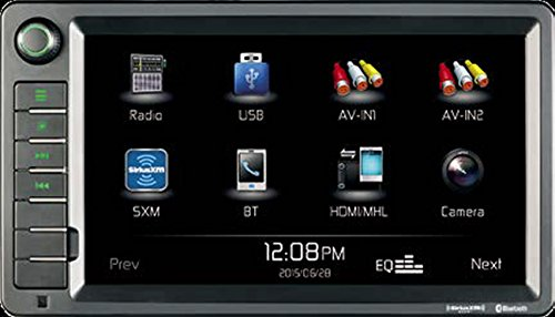 "Jensen XRV10 Double DIN 10.1"" Touchscreen Bluetooth Multimedia Receiver & Back-Up Observation System System, SiriusXM Ready / Built-In BT Technology / iPhone - iPod / MHL / HDMI / USB / AV In"
