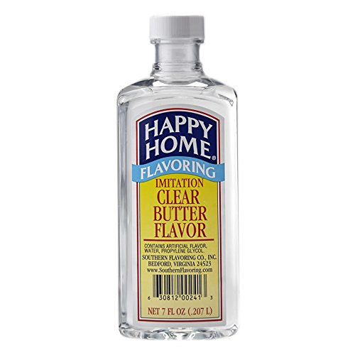 Happy Home Imitation Clear Butter Flavor 7 Ounce