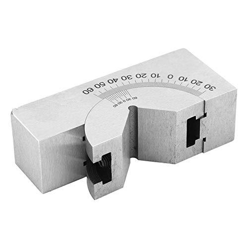 角度調整可能なVブロック 高精度マイクロミリングセット ステンレススチールアングルゲージ フライス盤の角度設定用