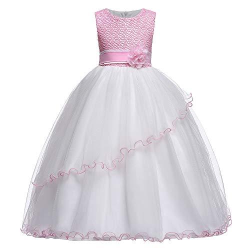 Vestito Da Festa Per Ragazze Vestido de flores niña de baile danza...