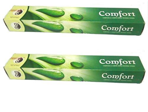 Comfort Lemon Grass Mosquito Repellent Incense Sticks -Pack of 26