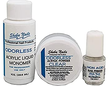SHEBA NAILS State Board Sealed Odorless Acrylic Try Me Kit