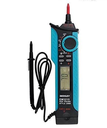 Preisvergleich Produktbild Tragbare Scientific Products Digitalmultimeter CAT II 250 V DMM-Stifttyp Maximale Reichweite TTL-Logikpegelmesser Empfindlicher elektrischer Test EM3215