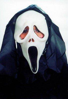 PARTY DISCOUNT ® Maske Der Schrei, aus Gummi TOP-ARTIKEL