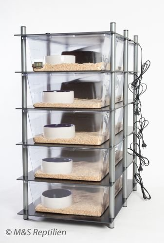 M&S Rack System, 5 Wannen, ADULT, Plug and Play