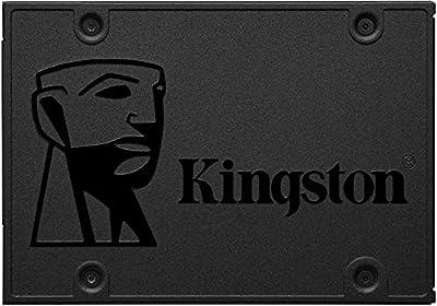 Kingston SSD A400 Solid State Drive (2.5 Inch SATA 3), 120 GB,SA400S37/120G,Black