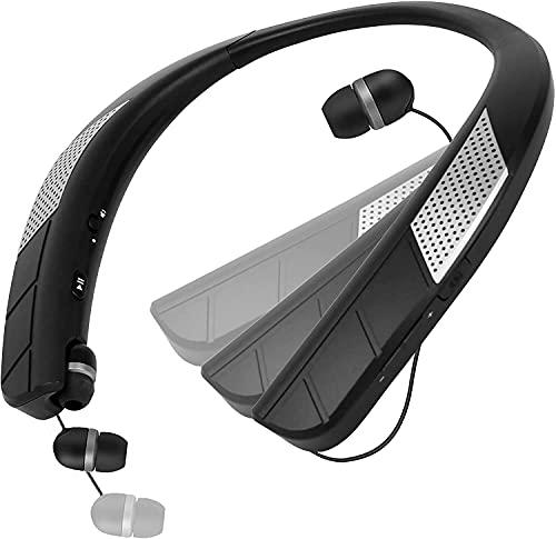 ネックスピーカー Bluetooth スピーカー 2021進化版 900MAH大容量バッテリー 人間工学による設計ワイヤレス Bluetooth