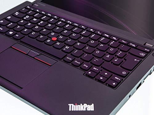 Lenovo ThinkPad X260 Mobiles Notebook, Intel i5 2 x 2.3 GHz Prozessor, 16 GB Arbeitsspeicher, 480 GB SSD, 12.5 Zoll Display, 1366x768, Cam, Windows 10 Pro, (Generalüberholt)