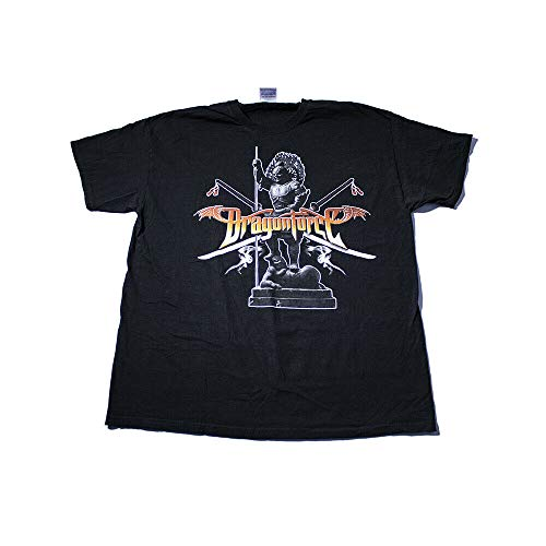 Dragon Force - World Tour 2007 / Used XL (2-Sided) Black Shirt/Power Metal