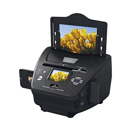 """Rollei PDF-S 250 - Multi Scanner für Dias, Negative und Fotos mit 5 Megapixel und 6,0 cm (2,4"""") LTPS LCD Farbmonitor - Schwarz"""