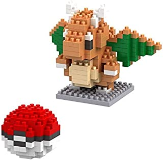 Ation Figure Charmander Bulbasaur Squirtle Eevee Dragonite Snorlax Mewtwo Lapras Gengar Plastic CubeDiamond Building Toy New Must Haves Baby Girl Gifts Girl S Favourite Superhero Coloring