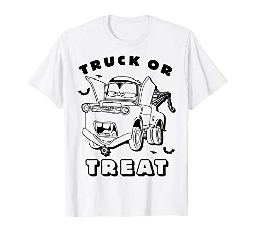 Disney Pixar Cars 2 Mater Halloween Graphic T-Shirt