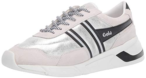 Gola Damen Eclipse Spark Sneaker, Weiß (White/Black Wb), 37 EU