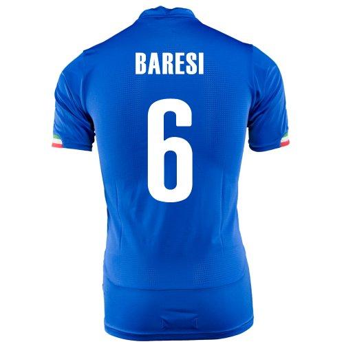Puma Baresi #6 – Camiseta de manga corta para el mundo de Italia 2014, Blue Royal, Small