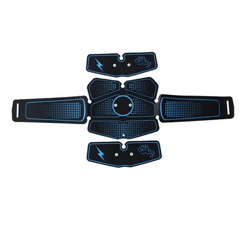 Shapewear Electroestimulador Muscular Abdominales, Estimulador Muscular Abdominales Cinturón,6 Modos ABS Estimulador Muscular para Bdomen/Brazo/Piernas/Glúteos