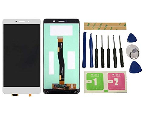 Flügel para Huawei Honor 6X BLN-AL10 BLN-L24 BLN-L21 Pantalla LCD pantalla Blanco Táctil Pantalla ( sin marco ) de Recambio & Herramientas