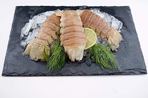 Bärenkrebsschwänze - Mediterranean Slipper Lobster Tail / roh / Wildfang / Westlicher Pazifischer Ozean / 12 Stück / Gewicht (900 -1000g)