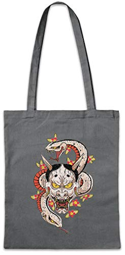 Urban Backwoods Oni Tattoo Boodschappentas Schoudertas Shopping Bag