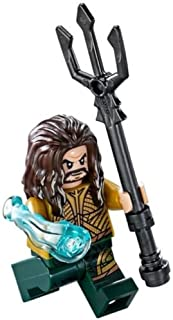 LEGO DC Super Heroes Justice League Minfigure - Aquaman with Trident (76085)