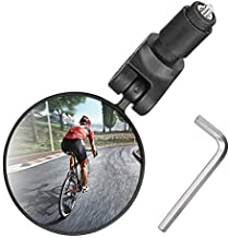 Bike Mirror Handlebar Mount, Bicycle Rear View Mirror, Bicycle Mirror for Handlebars Convex Bicycle accessories for Mountain Road Bike Helmet Mirror for Cycling