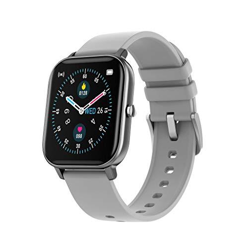 Monitor de Actividad Monitor Podómetro Temperatura Smartwatch Versión Mejorada, P8T Deportes Smart Watch Fitness Frecuencia Cardíaca Pulsera Inteligente Pantalla Táctil